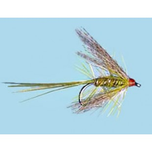 Turrall Wet Winged Dabbler Olive - Size 10