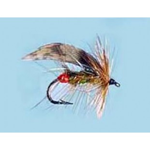 Turrall Wet Winged Green Peter-Redarsed - Size 10