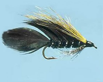 Turrall Streamer / Lure Ace Of Spades - Size 8