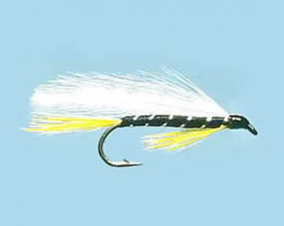 Turrall Streamer / Lure Black Ghost - Size 8