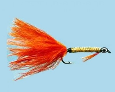 Turrall Nobbler Pretty Dog Orange Size 8