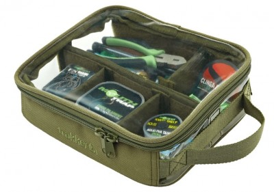 Trakker Bitz Pouch medium are hard wearing & come with a clear lid allowing easy identification of the contents