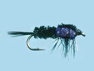 Turrall Weighted Nymph Montana Purple - Size 10