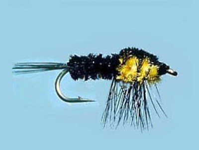 Turrall Weighted Nymph Montana Yellow - Size 10